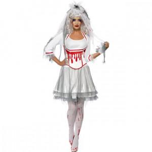 Costume Halloween Donna Sposa Horror