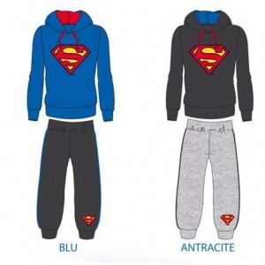 Tuta felpata bambino Superman