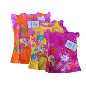 Abbigliamento prima infanzia T-shirt Jersey girl Looney Tunes *13474