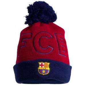 Berretto Invernale Barcellona Calcio Cappello Pon Pon PS 11433 Pelusciamo Store Marchirolo