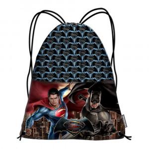 Sacca Multiuso Scuola Batman Vs Superman  *11752  Tempo Libero Dc