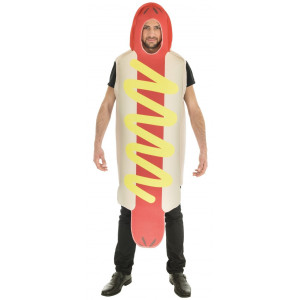 Costume Carnevale Uomo Hot Dog Uomo Panino PS 09330 Pelusciamo Store Marchirolo