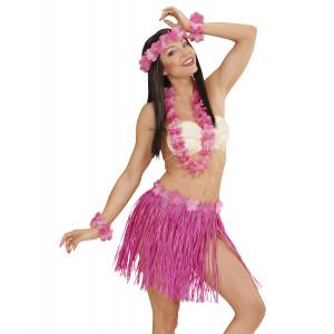 Accessorio Costume Carnevale  Set Hawaiana Rosai Party Hawaii | pelusciamo.com
