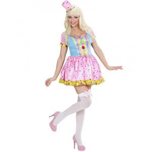 Costume Carnevale Donna Pagliaccio Clown Girl PS 26234 Pelusciamo Store Marchirolo