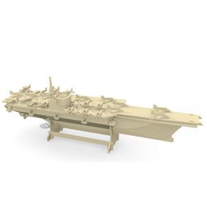 Puzzle 3D kit in legno Aircraft Carrier portaerei Quay Quality 08216 pelusciamo store
