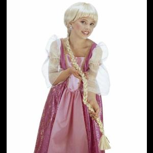 Accessorio Costume Carnevale Parrucca con treccia Rapunzel da bambina *20010 pelusciamo store
