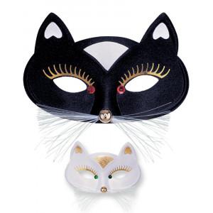 Mascherina Gatta X Costume Carnevale PS 26524 Pelusciamo Store Marchirolo