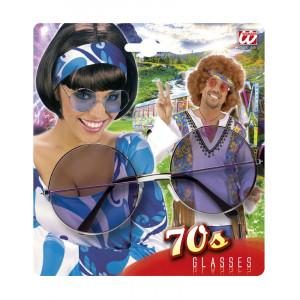Occhiali Tondi Per Costume Carnevale Anni 70 PS 26508 Pelusciamo Store Marchirolo