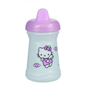 Tazza Con Beccuccio Hello Kitty accessori Prima Infanzia *06966