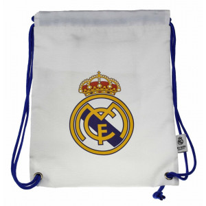 Real Madrid Sacca Palestra Bianca 43x33 cm PS 06666 Pelusciamo Store Marchirolo