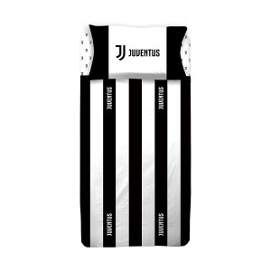 Juventus Completo Letto 1 Piazza e 1/2 Federa + Lenzuola Juve PS 09549 Pelusciamo Store Marchirolo