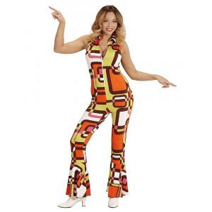Costume Carnevale Donna Anni 70 Groovy Girl PS 26250 Pelusciamo Store Marchirolo