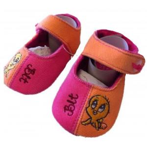 Scarpine Neonato Bicolore Bimba Girl Baby Looney Tunes PS 13418