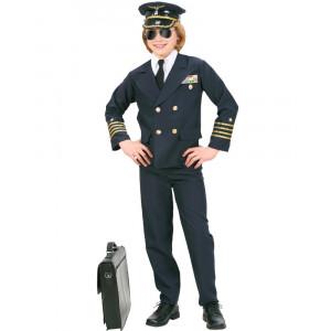 Costume Carnevale Divisa Pilota di Aerei Da Bambino PS 26167 Pelusciamo store Marchirolo