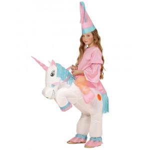 Costume Carnevale Bambino , Unicorno Gonfiabile PS 11950 Taglia Unica Pelusciamo Store Marchirolo