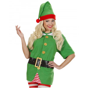 Costume Elfo Aiutante Babbo Natale Unisex Uomo Donna PS19514 Pelusciamo Store Marchirolo