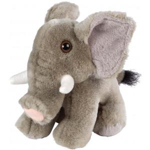 Peluche elefante africano 10 cm. peluches wild republic *04578