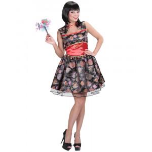 Costume Carnevale Donna Abito da Cinesina PS 26231 Pelusciamo Store Marchirolo