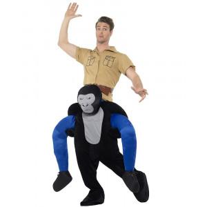 Costume Carnevale Gorilla Carry Me Taglia Unica Adulto PS 26591 Pelusciamo Store Marchirolo