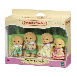 Sylvanian Families Famiglia Barboncini PS 05682 Toy Poddle Family 5259 pelusciamo store