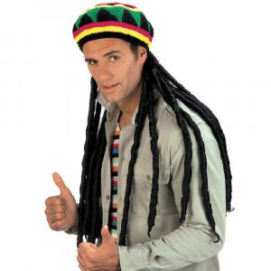 Cappello Rasta Giamaicano Accessori Costume Carnevale PS 26466 Pelusciamo Store Marchirolo