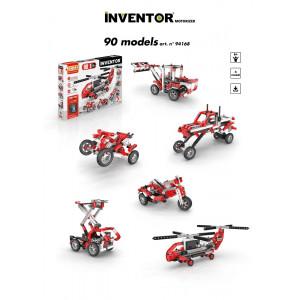 Set 90 in uno inventor gioco di costruzioni engino motorizzato *02476 pelusciamo store
