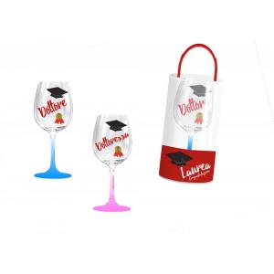 Bicchiere Pvc, Gadget Festa di Laurea    Pelusciamo.com