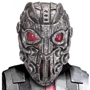 Maschera Carnevale Robot Cyborg Space Intruder PS 26448 Pelusciamo Store Marchirolo