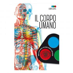 Libro educativo il corpo umano con lente PS 07089 Libri Educativi PELUSCIAMO STORE