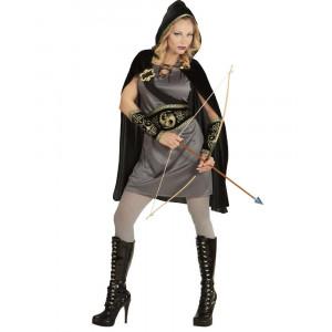 Costume Carnevale Donna Arciere Medioevale PS 26228 Pelusciamo Store Marchirolo
