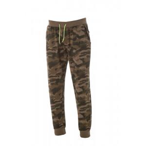 Pantalone Tuta Camouflage Green 100% Cotone Garzato Prelavato PS 28450 pelusciamo store Marchirolo