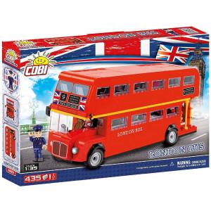 Costruzioni Cobi 435 London Bus, Rosso Pz  PS 09213 Pelusciamo Store Marchirolo