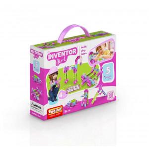 Engino Inventor  girl 5 modelli in 1 gioco di costruzioni 04603 pelusciamo store