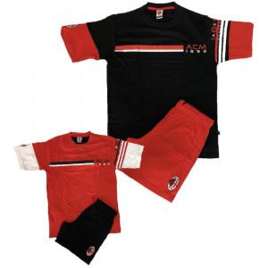 Abbigliamento ACM 1899 Milan Calcio Pigiama Completo Uomo PS 05387