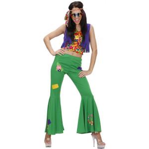 Costume Carnevale Donna Hippie,  Woodstock Anni 60  | Pelusciamo store