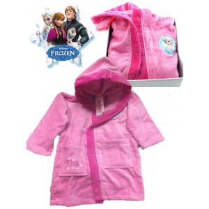 Accappatoio Bambina con cappuccio Frozen Abbigliamento Disney *02438