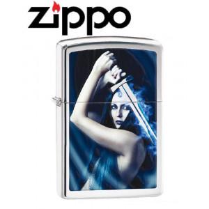 Accendino Zippo Lady Sword 13F043 antivento *20383 pelusciamo store