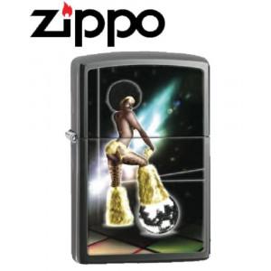 Accendino Zippo disco pole dancer anni 70/80 ball *20366 pelusciamo store