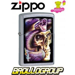 Accendino Zippo Mazzi Skull & Snake *00543 pelusciamo store