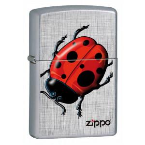 Accendino Zippo LadyBug Coccinella Lucky PS 06154 pelusciamo store
