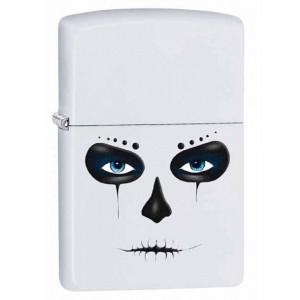 Accendino Zippo white mask 28828 PS 20327 made in usa pelusciamo store