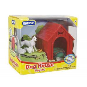 Accessori Breyer Dog House Play Set - Madison the Jack Russel Terrier *02374 pelusciamo store