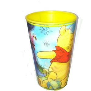 Accessori Disney bicchiere  Winnie the Pooh *00230 pelusciamo