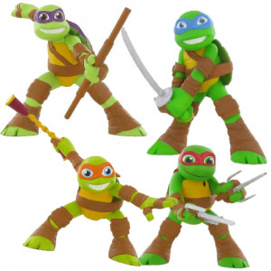 Action Figures Tartarughe Ninja Turtles Comansi PS 06144