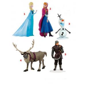 Action Figure Personaggi Frozen Disney , Anna, Elsa, Olaf, Sven e Kristoff | Pelusciamo Store