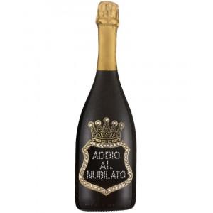 Bottiglia Di Prosecco Extra Dry 0.75 ML. Personalizzata Addio Al Nubilato PS 27269