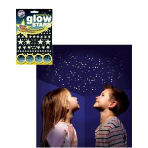 Adesivi, Stelle Fluorescenti Decorazione Muro Camera