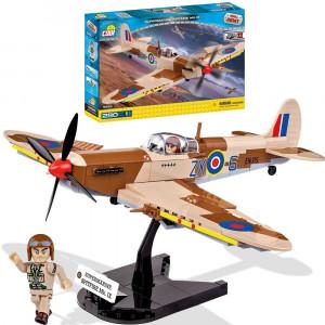 Costruzioni Cobi 280 pz Aereo Inglese Spitfire 2 Guerra  pelusciamo store