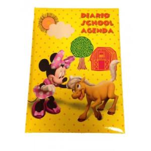 Diario Scuola 12 mesi Minnie, Agenda Topolina Disney | pelusciamo.com