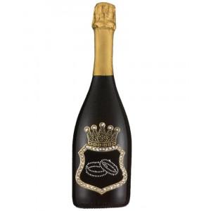Bottiglia Di Prosecco Extra Dry 0.75 ML. Personalizzata Anelli PS 27271